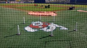 FS Baseball Stencil