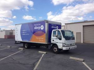 SleepFit Boxtruck